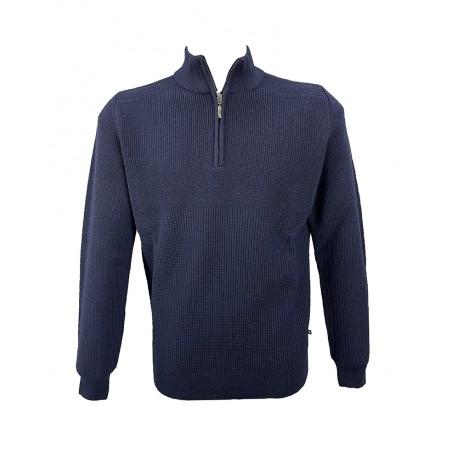 Maglione Blu Salina BS570/40Z