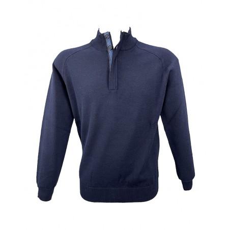 Maglione Blu Salina BS580/40Z